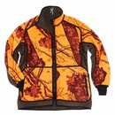 BROWNING Powerfleece Wendejacke Blaze Orange Camo
