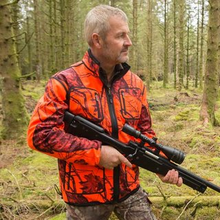Shooterking Mossy Orange Softshelljacke Herren