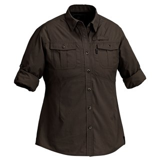 Pinewood Damen Bluse Namibia earthbrown XXL