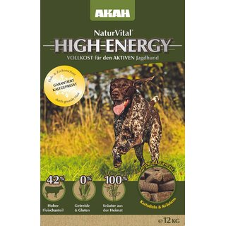 AKAH NaturVital HIGH ENERGY 12kg