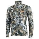 Sitka Unterziehshirt Core Midweight Zip T Optifade Elavated
