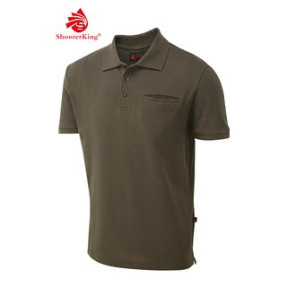 Shooterking Game Polo Shirt braun S