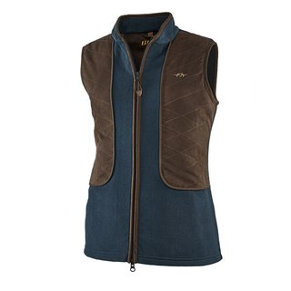 Blaser Basic Fleece Weste Damen dunkelblau