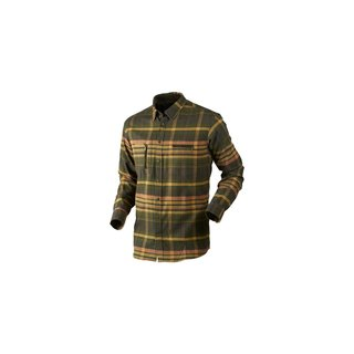 Härkila Eide Hemd Herren Shadow brown check 3XL
