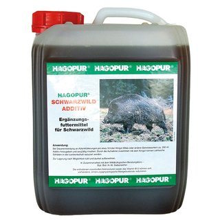 Hagopur Schwarzwild-Additiv Lockmittel 5L